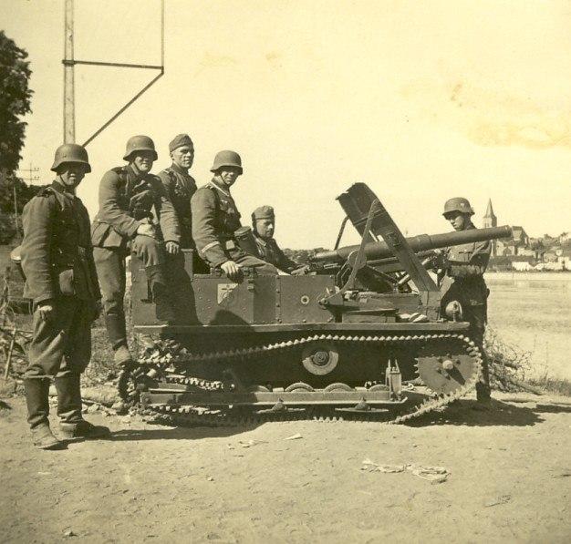 Танкетка Карден-Лойд с 47-мм пушкой